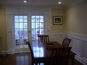 Long Island Dream Kitchen - Artistic Contracting - Dining Area and Architectural Millwork